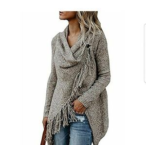 Taupe Oversized Sweater